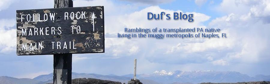 Duf's Blog